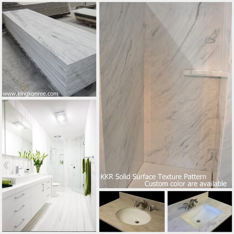Handige Indeling Badkamer ~ Kingkonree imitatie stenen muur paneel acryl badkamer wandpanelen