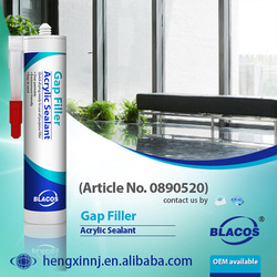 Eco-Friendly Paintable Water Based Acrylic Crack Sealing Sealant