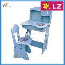 Popular style unique design kids plastic table and chair set