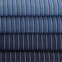 Yarn Dyed Plain Striped Fabric Suitable For Garment Accessories