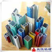 China top manufacturers extruded aluminum window and door profile