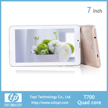 T700 7 Inch Quad Core 4G Phone Tablet PC