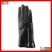 BST52207 TIANJIN BIOSUNTEX 100% sheepskin leather BSCI certlficate smartphone leather touch glove