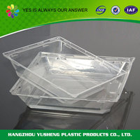 Eco-friendly material disposable large egg plastic tray,plastic blister tray,blister packing
