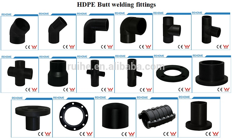 Professionele hdpe fittings stub flens adapter