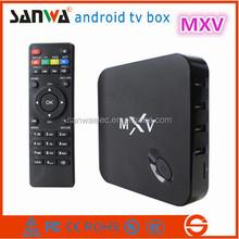 Sanwa MXV TV BOX Google Android 4.4 Kitkat S805 Smart TV Box Quad Core 1GB 8GB