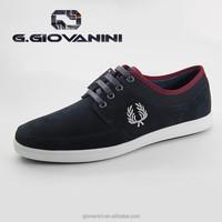 TB556-35-198 Navy blue cow suede shoes men man shoe sneaker shoes for men