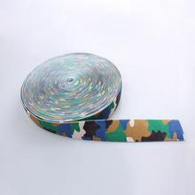 New promotion camouflage nylon webbing sample free