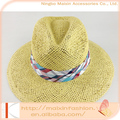 Para mujer calientes de la venta promocional tejida verano sombreros de sun