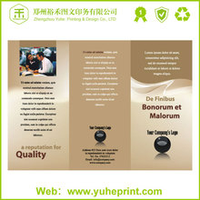 China print famous fashion wholesale high quality a5 art coated paper painting print flyers leaflets poster colours