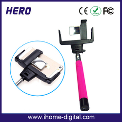 Extendable Handheld tripod holder for cell phone for iPhone and Android