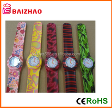 2015 Fashion wholesale colorful adults slap watches slap wrist watch