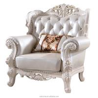 lifestyle living room leather single sofa good quality wooden living room sofa