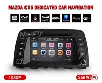 "7"" Car DVD Player for Mazda CX-5 CX5 CX 5 2013 2014 Auto Multimedia with GPS Navigation 3G/WIFI USB BT Radio1080P Video"