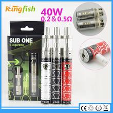 New big vapor ecig sub ohm tank electronic cigarette best vaporizer e-cigarette dual tank vgo pro for china wholesale