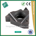 Npt tubos nacional indexáveis tungstênio Threading inserções CNC máquina de corte ferramentas