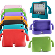 Cartoon Kids Non-toxic EVA Soft Thick Foam Cover Stand Holder silicone case For Ipad 2/3/4
