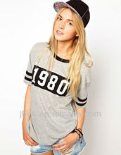 Cool girl cotton fashion t-shirt