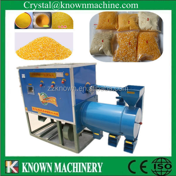 commercail combined maize/corn grits mill/corn grinder machine