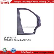 Auto Door Pillar Assy for Toyota Minibus Hiace 2008-2012