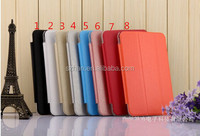Plastic Back Transparent Cover Case WITH Smart Cover for HuaWei MediaPad 7 Youth 2 S7-701U/w