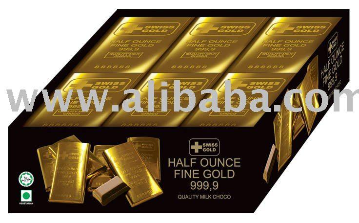 Suizo Gold Bar de Chocolate
