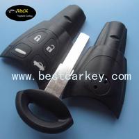 Topbest saab key shell auto car key shell saab 9-3 saab key chain