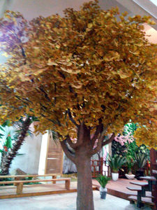 Metros 3-5 artificial del árbol de ginkgo en venta, artificial de árboles en la venta