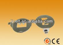 DIP or smd type cr2032 retainer / holder, 3V lithium CR battery holder for CR2032 SMD type