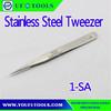 1-SA Conductive High Precision Stainless Steel Tweezer ,High Quality Hand Tweezer