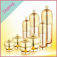 acrylic material low minimum order quantity cosmetic bottle for cream