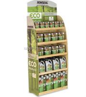 Drink Cardboard Showroom Floor Display Stand