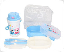 Plastic Jug Plus Lunch Box For Children