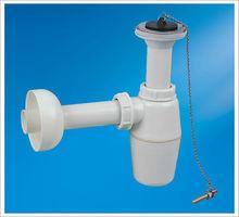plastic bottle trap for wash basin/bidet