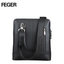 cow leather handbag men leather messenger handbags thin tablet bag