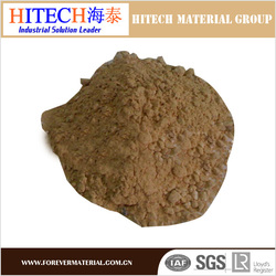ZiBo Hitech high quality castable refractory cement with good thermal shock resistance