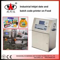 Batch code plastic bag printer