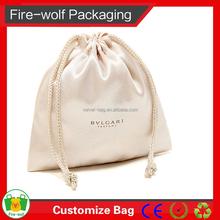 Custom Satin Drawstring Shoe Dust Bag