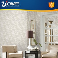 Uhome 10M Roll American Style Textured Classic Damask Wallpaper Decor Fireproof Wall Panel