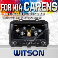 WITSON FOR KIA CARENS 2013 CAR STEREO WITH A8 DUAL CORE CHIPSET DVR SUPPORT WIFI 3G APE MUSIC BACK VIEW