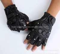 OEM 2015 hot sale tactical military outdoor trainning tactical leather and fur gloves