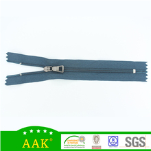 Bags shoes and accessories 3# nylon close end zippers with puller A-11-104