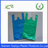 Printed PE plain t-shirt plastic grocery bags Made In China.