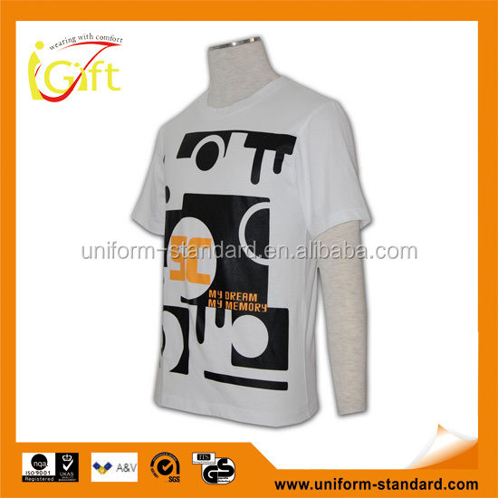 Hot Sell Wholesale Digital Print Design No Brand T Shirt