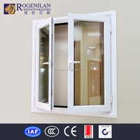 ROGENILAN 45 series anti-theft bathroom waterproof window screen