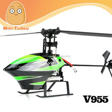 WLtoys New Product V955 4CH Flybarless Mini RC Helicopter RTF Flybarless wl rc helicopter