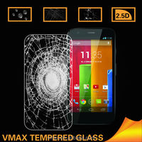 2014 9H hardness HD Clear Anti Glare Mobile Phone LCD Display Tempered glass anti shock screen protector for motorola moto g