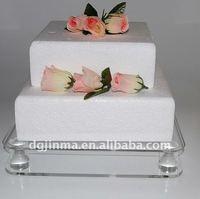 fashion clear led acrylic cupcake stand