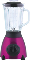 Powerfu ice crush function stailess steel housing blender with 1.5L glass jar & CB certificate