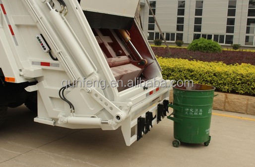 Garbage Truck Power Wheels : Power wheel compactor garbage truck price with rear loader